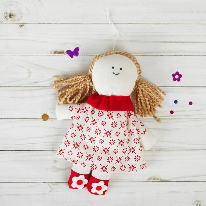 Мягкая игрушка-подвеска «Людмила» цветочки на ножках, цвета МИКС
