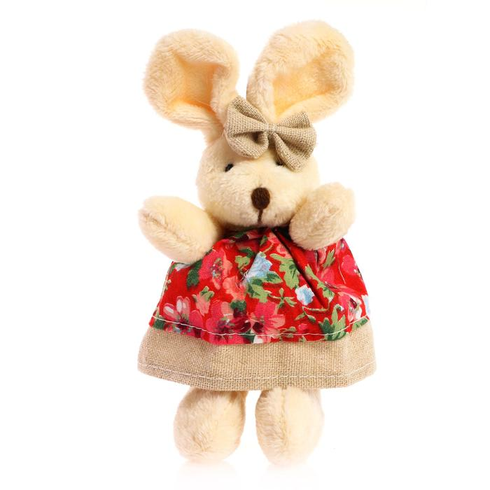 Подвеска «Заинька», цветы на одежде, цвета МИКС