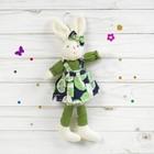 Мягкая игрушка-подвеска «Лесной зайка», виды МИКС