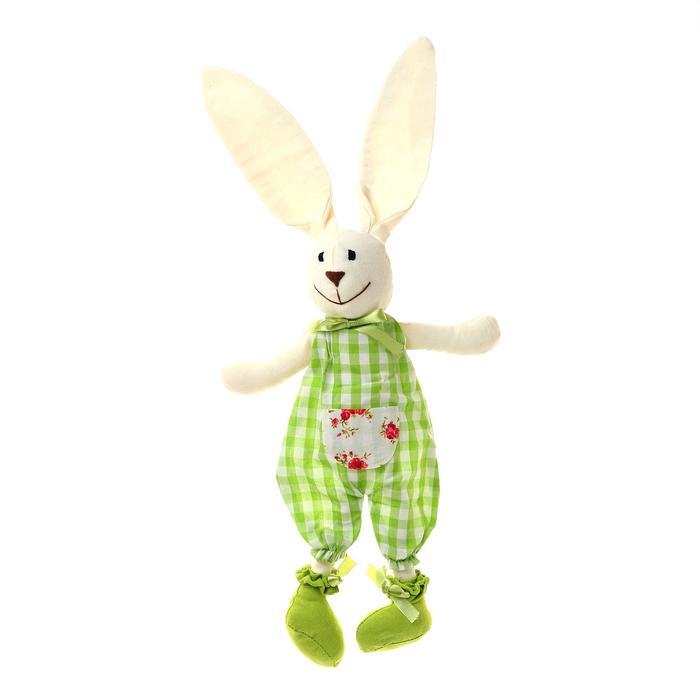 """Мягкая игрушка-подвеска """"Заяц"""" длинные ушки, виды МИКС"""