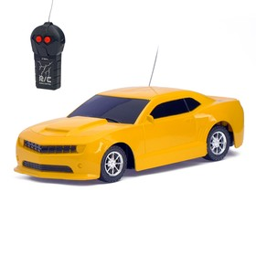 Машина радиоуправляемая «Камаро», работает от батареек цвета МИКС Ош
