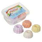 Мелки цветные 4 шт. 4 цвета «Фантазия» в форме кекса, пластиковый контейнер