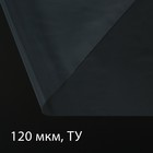 Плёнка полиэтиленовая, рукав, 10 × 1,5 м, толщина 120 мкм, прозрачная