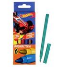 Фломастеры 6 цветов Mattel Hot Wheels