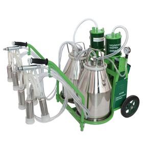Доильный агрегат 1Т, 22,6 л , последовательно выдаивает 16-20 коров, силикон