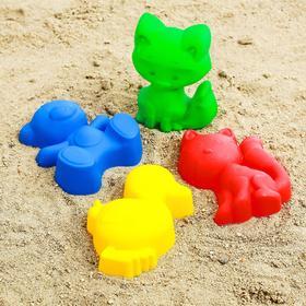 Набор для игры в песке №56, цвета МИКС