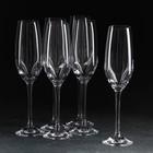 Набор бокалов для шампанского Yarra, 205 мл, 6 шт.