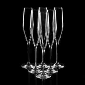 Набор бокалов для шампанского Swan, 190 мл, 6 шт