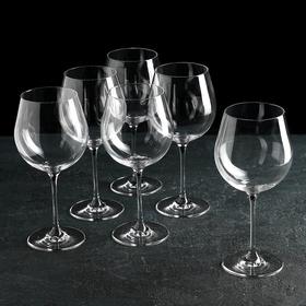 """Набор бокалов для вина 610 мл """"Престиж"""", 6 шт"""