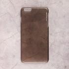 Чехол Deppa Pure Case для Apple iPhone 6/6S Plus, hard coating, черный - прозрачный