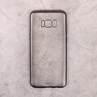 Чехол Deppa Gel Plus Case матовый для Samsung Galaxy S8+, черный