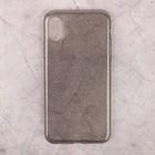 Чехол Deppa Chic Case для Apple iPhone X, черный