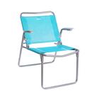 Кресло-шезлонг складное, размер 730x570x640 мм,  ткань сетчатая  К1
