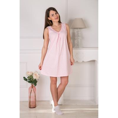 Сорочка женская Лика 155 цвет розовый, р-р 54