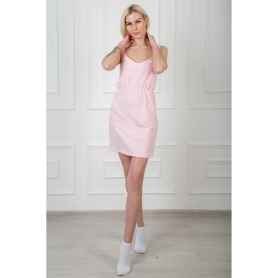 Сорочка женская  138 цвет светло-розовый, р-р 42