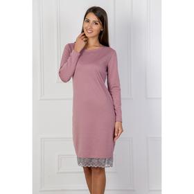 Платье женское Анна 260 цвет розовый, р-р 46