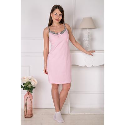 Сорочка женская 150 Наталия цвет розовый, р-р 44