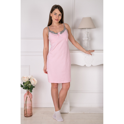 Сорочка женская 150 Наталия цвет розовый, р-р 50