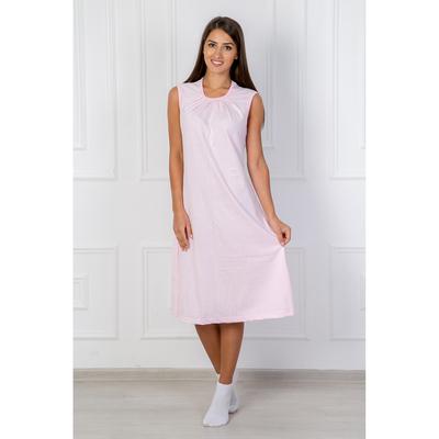 Сорочка женская Адель 257 цвет розовый, р-р 46