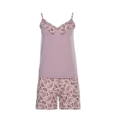 Комплект женский (майка, шорты) 135 цвет серый, р-р 42