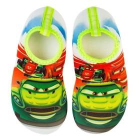 Aqua-shoes children's art. DNK20552-02, color green, size 32/33