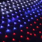 """УЦЕНКА Гирлянда """"Сетка"""" Ш:2,4 м, В:1 м, Н.С. LED-360-220V, """"Флаг РОССИИ"""""""