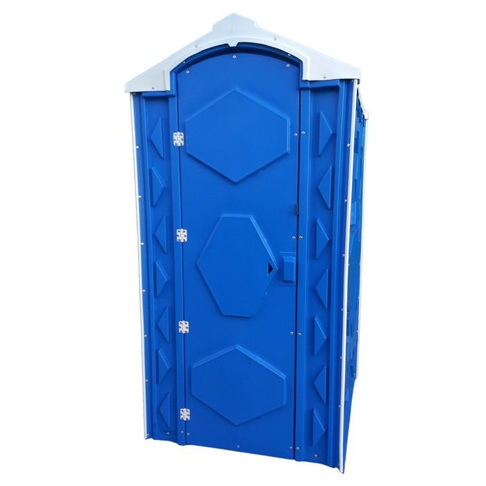 Мобильная туалетная кабина Универсал «Ecogr» синяя