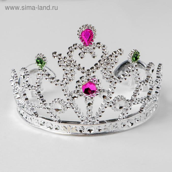 """Crown with faces of """"droplet"""""""