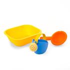 Набор для купания мягкий №9: ванночка, лейка малая, ковш