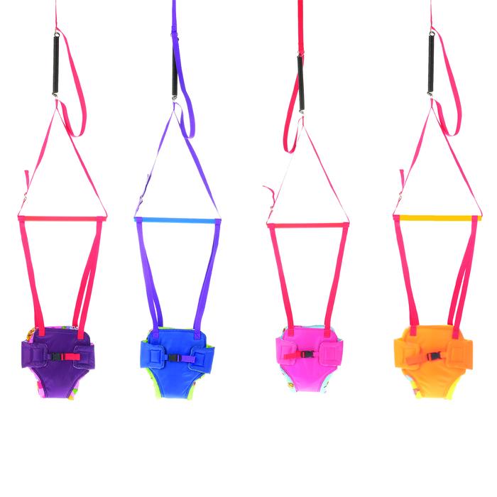 Подарочный набор «Прыгунки № 1 + детские вожжи», крюк в комплекте, цвета МИКС
