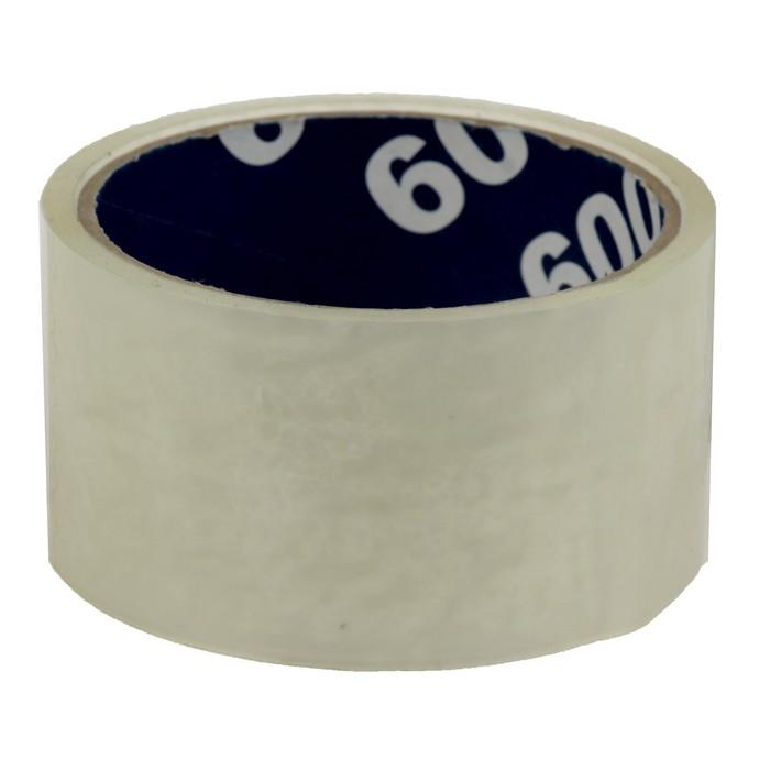 Клейкая лента упаковочная 48 мм х 24 м, 45 мкм UNIBOB (прозрачная)