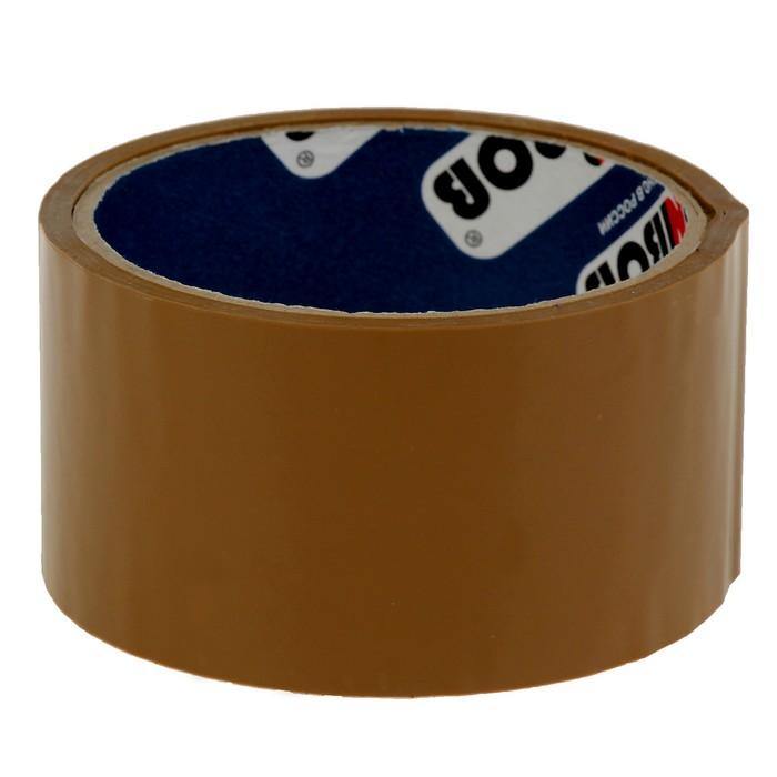 Клейкая лента упаковочная 48 мм х 24 м, 45 мкм UNIBOB (темная)