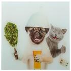 Картина для бани «Домашние животные», 30х30 см