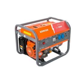 """Генератор бензиновый """"Кратон"""" GG-5500M, 5/5.5 кВт, 220 В, 50 Гц, 3000 об/мин, ручной стартер"""