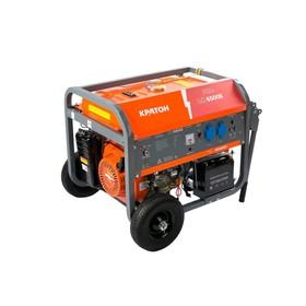 """Генератор бензиновый """"Кратон"""" GG-6500EM, 6/6.5 кВт, 220В / 50Гц, электро/ручной стартер"""
