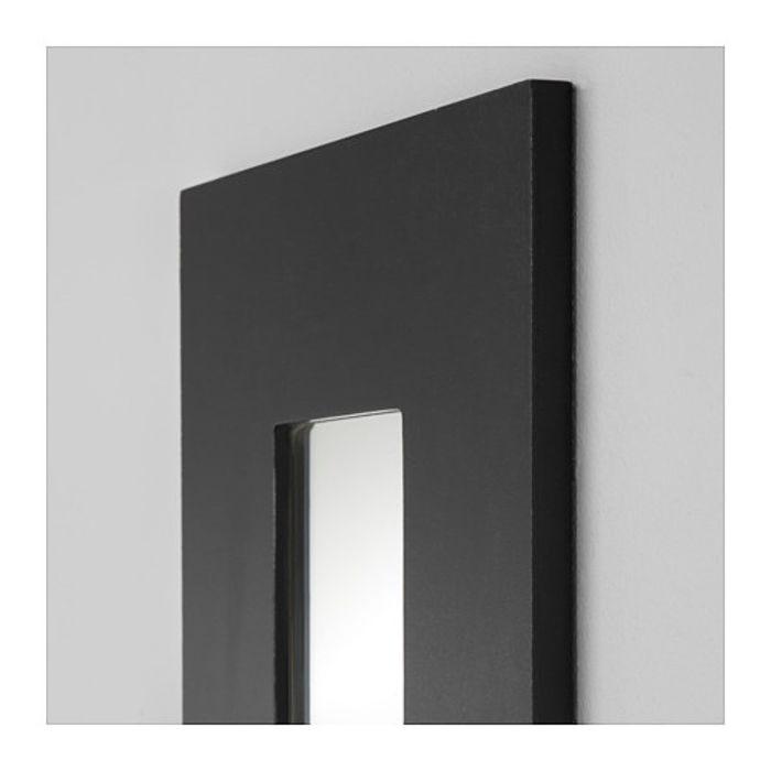 Зеркало, цвет черный МАЛЬМА