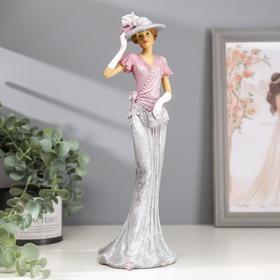 "Souvenir Polyresin ""Lady Elina in the hat"" 30,5х10х11 cm"