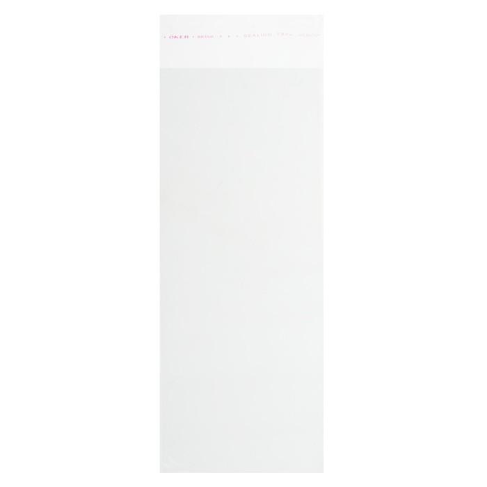 Пакет с липкой лентой 12 х 30/4 см, 25 мкм - фото 8444084