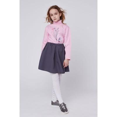 Водолазка для девочек, рост 140-146 (40) см, цвет розовый