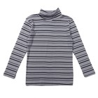 Водолазка для мальчиков, рост 134-140 (38) см, цвет серый