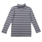 Водолазка для мальчиков, рост 140-146 (40) см, цвет серый 10889