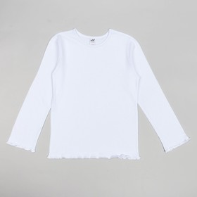 Джемпер для девочек, рост 110-116 (32) см, цвет белый 10911 Ош
