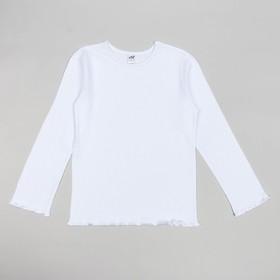 Джемпер для девочек, рост 140-146 (40) см, цвет белый 10911 Ош