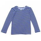 Тельняшка для мальчиков, рост 104-110 (30) см, цвет синий
