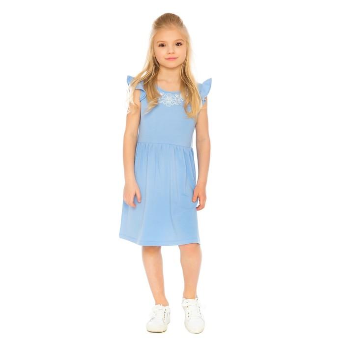 Платье для девочки, рост 110 см, цвет сиреневый