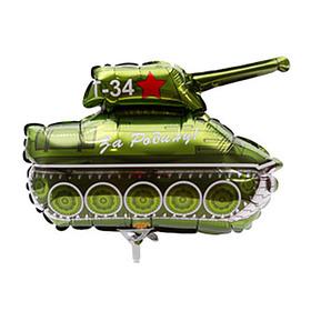 """Шар фольгированный 14"""" """"Танк Т-34"""""""