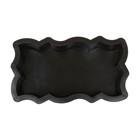 Форма для тротуарной плитки «Волна Зигзаг», 26 х 13 х 5.6 см, Ф11004