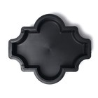 Форма для тротуарной плитки «Клевер», 26.5 × 22 × 5.6 см, гладкая, Ф11019