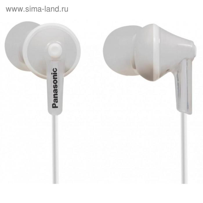 Наушники Panasonic rp-hje 125, вкладыши вакуумные, белые
