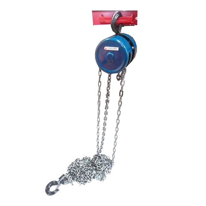Лебедка механическая Forsage F-TR9015, подвесная с фиксацией цепи натяжения, 1.5 т, 2.5 м